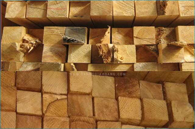 Sàn gỗ cao su chống mối mọt
