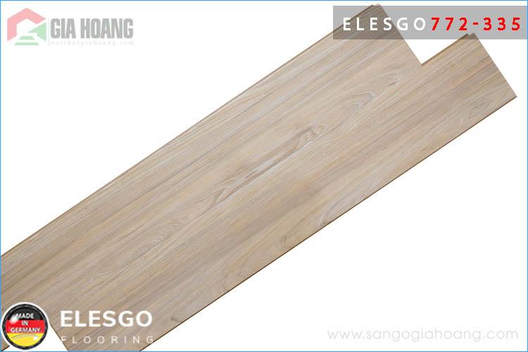 Mẫu sàn gỗ Đức ELESGO 772-335 bản 8.7 mm mặt bóng cao cấp