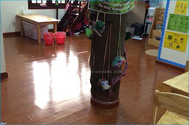 Ảnh thực tế sàn gỗ Komos 2288 sau thi công