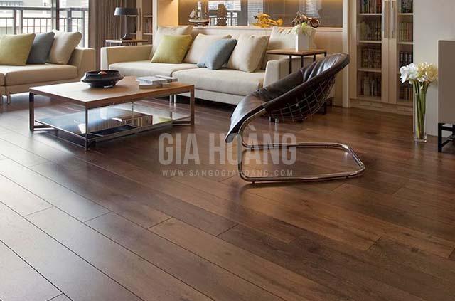 Cách chọn sàn gỗ cho chung cư