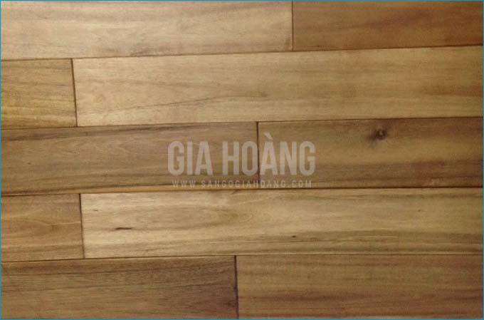 Ảnh thực tế sàn gỗ Tràm Bông Vàng